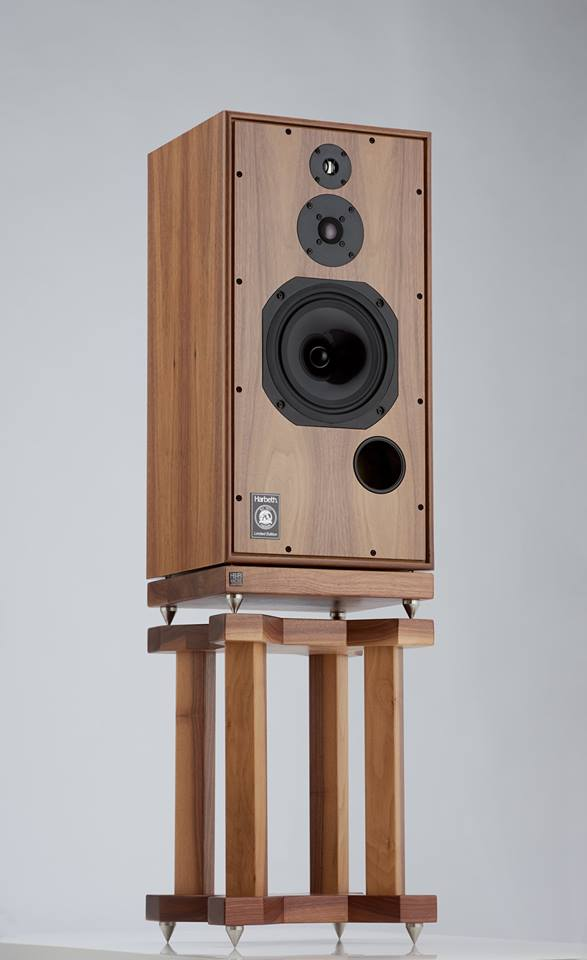 Grand Speaker Stands for Harbeth SHL5 Plus